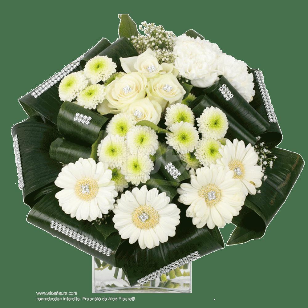 Bouquet-Rond-Blanc-&-strass