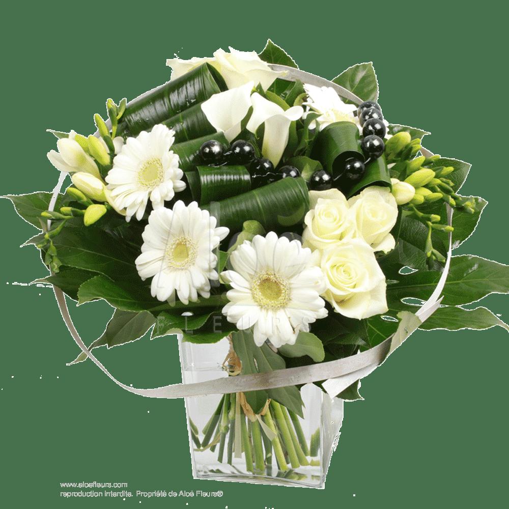 Bouquet-black&white-perle