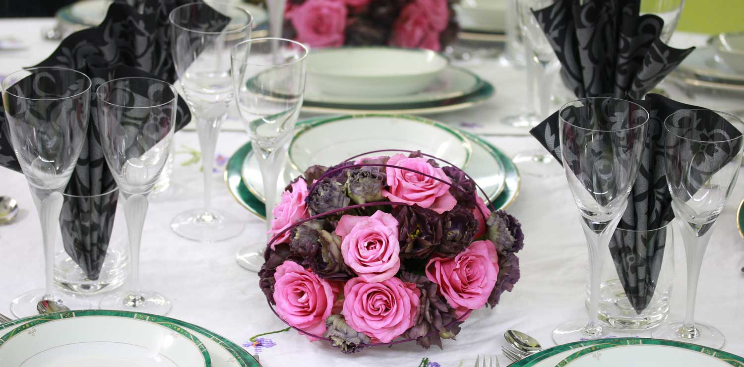 Reussir La Decoration Florale Des Tables
