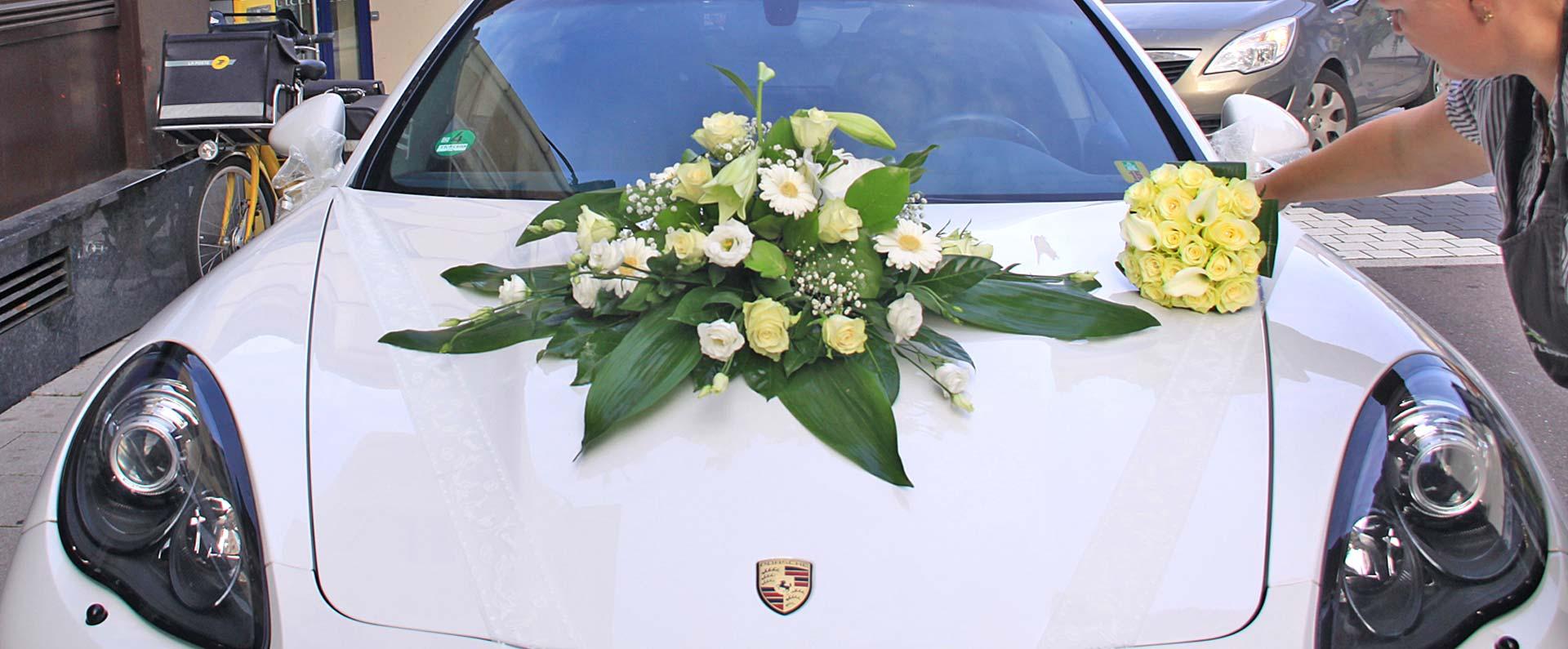 decoration mariage tendance voiture