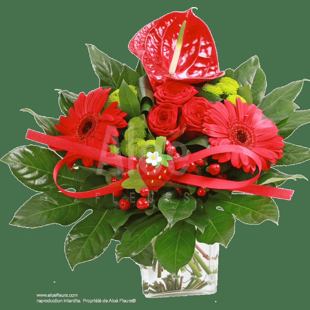 Bouquet-charlotte