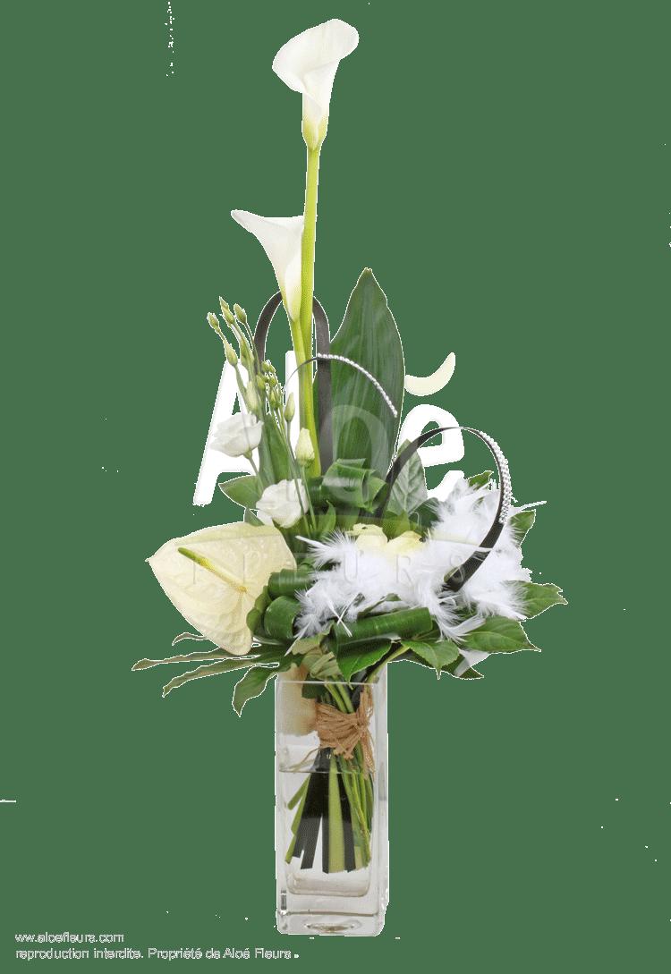 Bouquet-plume du bonheur-